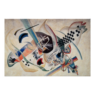 Kandinskyの構成の抽象芸術の絵を描くこと ポスター