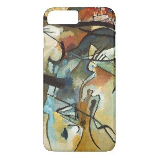 Kandinskyの構成Vの抽象的な絵画 iPhone 8 Plus/7 Plusケース