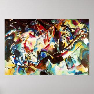 Kandinskyの構成VIポスター ポスター