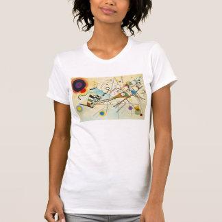 Kandinskyの構成VIIIのTシャツ Tシャツ