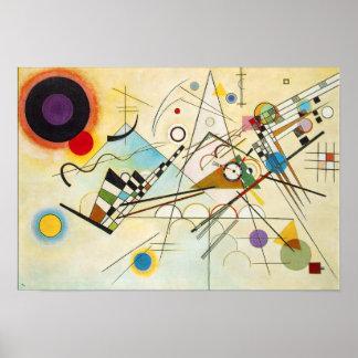 Kandinskyの構成VIIIポスター ポスター