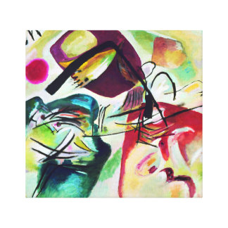 Kandinskyの黒いアーチ キャンバスプリント