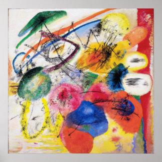 Kandinskyの黒いラインポスター ポスター