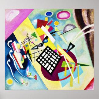 Kandinskyの黒い格子ポスター ポスター