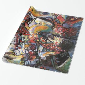 Kandinskyモスクワ私はアートワークを抽出します ラッピングペーパー