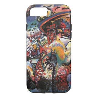 KandinskyモスクワIの都市景観の抽象的な絵画 iPhone 8/7ケース