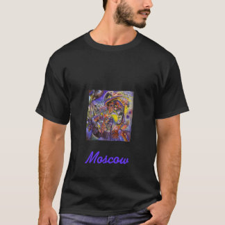 Kandinsky著モスクワ、 Tシャツ
