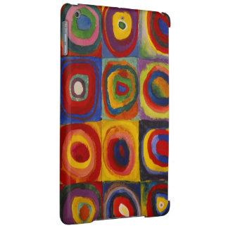 Kandinsky著正方形の円の色の勉強