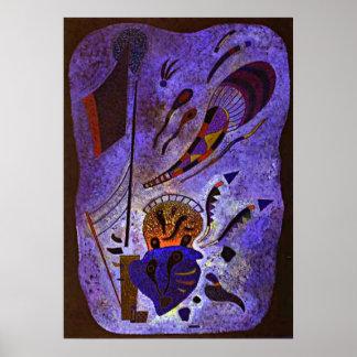 Kandinsky -たそがれ ポスター