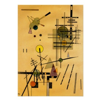 Kandinsky -ひも ポスター