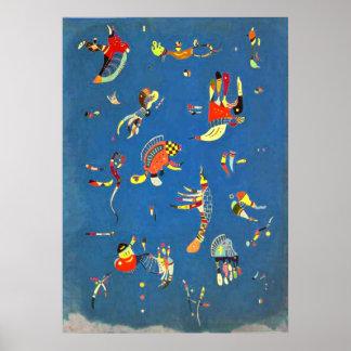 Kandinsky -スカイブルー ポスター