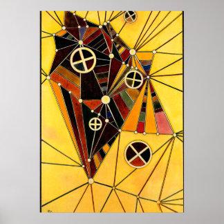 Kandinsky -ネットワークの… ポスター