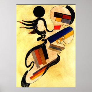 Kandinsky -一つはめの宝石54 ポスター