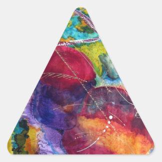 Kandinsky 三角形シール