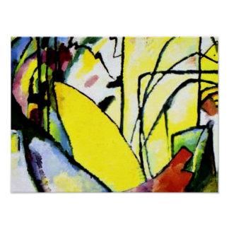 Kandinsky -即興10 ポスター