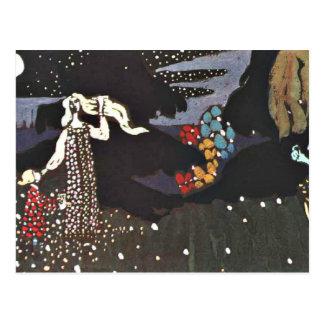 Kandinsky -夜 ポストカード