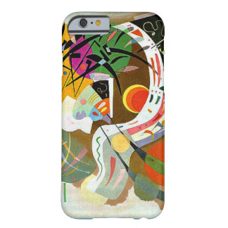 Kandinsky -支配的なカーブ barely there iPhone 6 ケース
