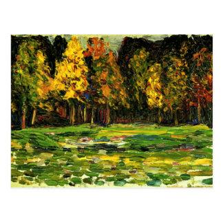Kandinsky -森林端 ポストカード