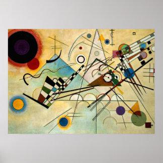 Kandinsky -構成VIII ポスター