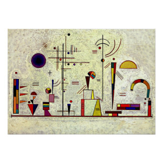 Kandinsky -深刻おもしろい ポスター