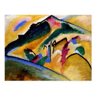 Kandinsky -秋の景色 ポストカード