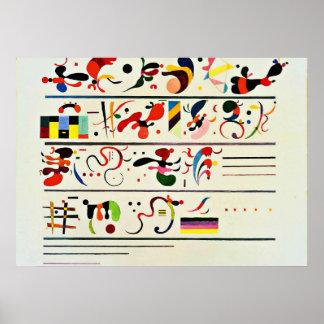Kandinsky -連続 ポスター