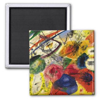 Kandinsky -黒い打撃 マグネット