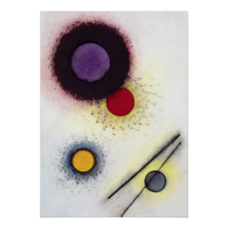 Kandinsky - Untitledの1923年の(a) ポスター