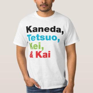 Kaneda Tetsuo等は(軽い) Tシャツを示します Tシャツ