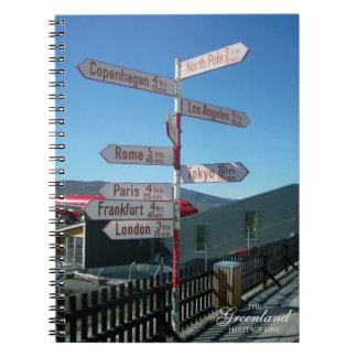 Kangerllussuaq (Sonderstromfjord、グリーンランド) ノートブック