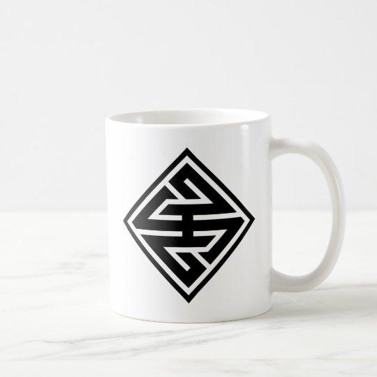 "kanji ""王"" コーヒーマグカップ"