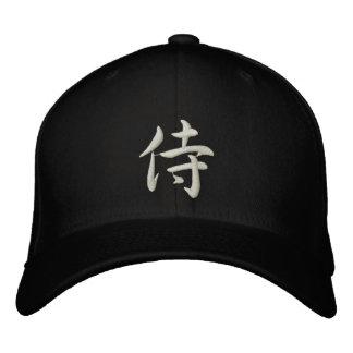 Kanji Samurai Hat 刺繍入りキャップ