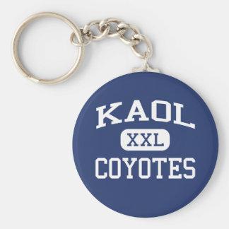 KAOLのコヨーテの中学校Kingmanアリゾナ キーホルダー