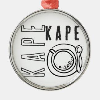 Kapeシリーズ メタルオーナメント