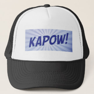 KAPOWの漫画本の服装 キャップ