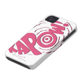 KAPOW! Case-Mate iPhone 4 ケース