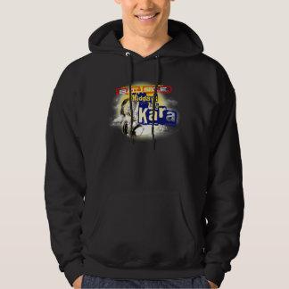 Karaのフード付きスウェットシャツの正午 パーカ