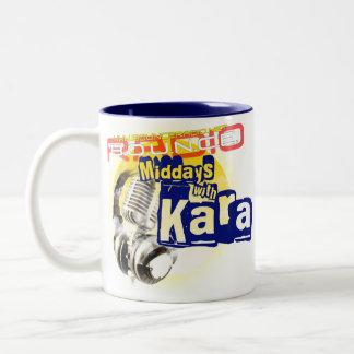 Karaの正午は15ozマグを着色しました ツートーンマグカップ