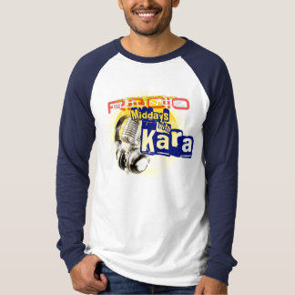 Karaの男性長袖との正午 Tシャツ