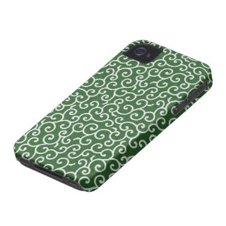 KARAKUSA - arabesque 唐草文様 Case-Mate iPhone 4 ケース