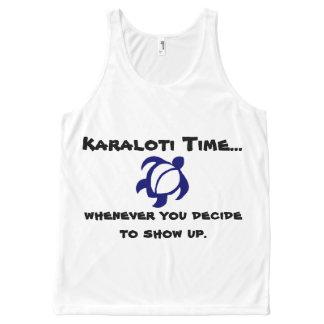 Karalotiの時間… オールオーバープリントタンクトップ