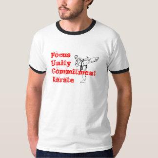 karate3、FocusUnityCommitmentKarate Tシャツ