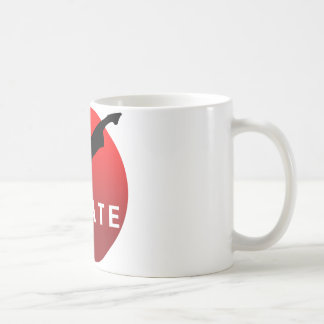 KARATE keri 2 コーヒーマグカップ