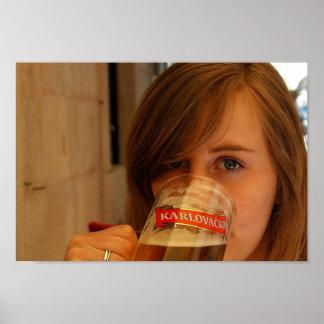 Karlovackoの女の子 ポスター