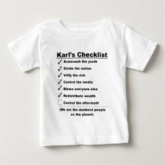 Karls checklist.jpg .png ベビーTシャツ
