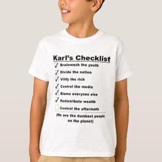 Karls checklist.jpg .png tシャツ