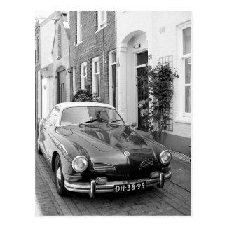 Karmann Ghiaクラシックな車の芸術のプリント ポストカード