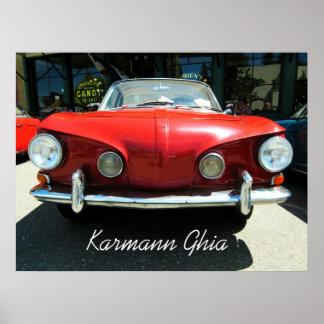 Karmann Ghia ポスター