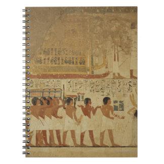 Karnakの寺院ルクソル、エジプト ノートブック