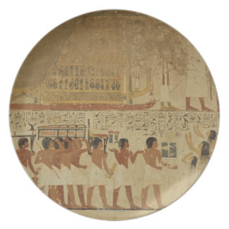 Karnakの寺院ルクソル、エジプト プレート